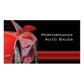 Browse the Automotive Business Cards Collection and personalize by color, design, or style.