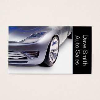 High Performance Auto Sales & Service Business Card