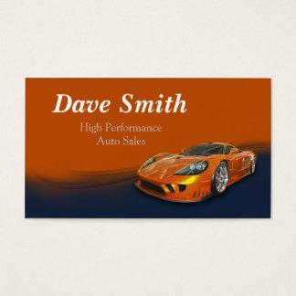 High Performance Automotive Sales & Service Business Card