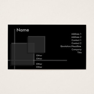 High Performance Profile Card