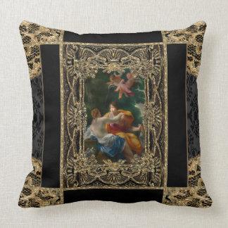High Permission  Baroque Throw Pillow
