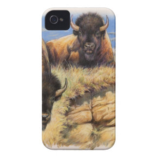 High Plains Bison iPhone 4 Cases