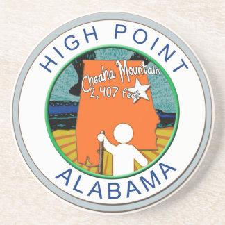 HIGH POINT ALABAMA  CHEAHA MT. DRINK COASTER