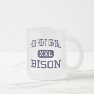 High Point Central - Bison - High - High Point 10 Oz Frosted Glass Coffee Mug
