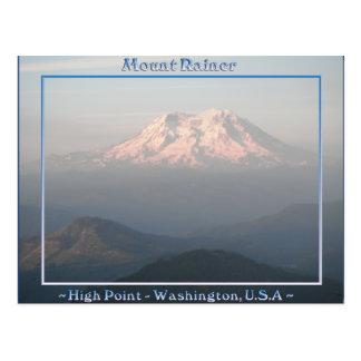 HIGH POINT Mount Rainier Washington Postcard