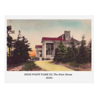 High Point Park NJ, The State House 1910s postcard