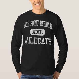High Point Regional - Wildcats - High - Sussex T-Shirt
