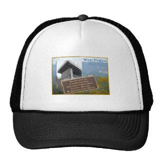 HIGH POINT WEST VIRGINIA SPRUCE KNOB MESH HATS