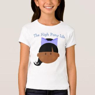 High Pony Life African American Cheerleader T-Shirt