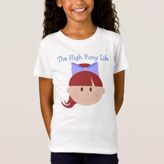 High Pony Life Cheerleader Red Hair Brown Eyes T-Shirt