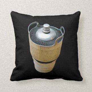 High Power Transmitting Tube Black Throw Pillow