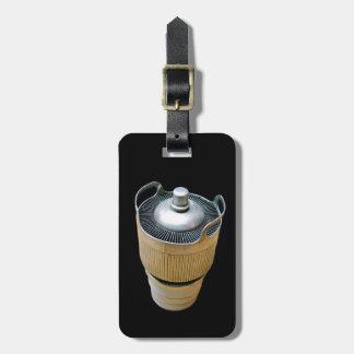 High Power Transmitting Tube Luggage Tag