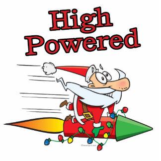 high powered rocket santa toon cut outs