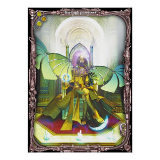 High Priestess, by Joseph Maas Posters