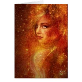 High Priestess Fire Cards