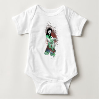 High priestess of Cthulhu Baby Bodysuit