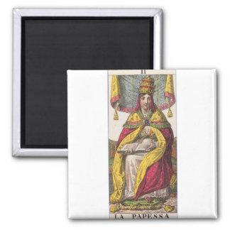 High Priestess Vintage Tarot Magnet