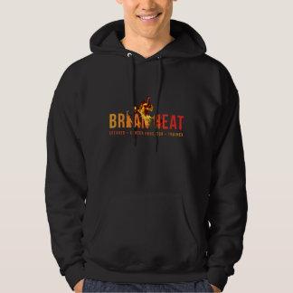 High Quality Brian Heat Black Hooded Sweatshirt
