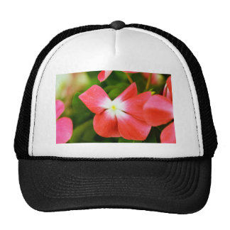 High Quality Floral Photo (Red Flower) Trucker Hat