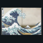 "High Quality Great Wave off Kanagawa by Hokusai iPad Pro 12.9&quot; Case<br><div class=""desc"">The Great Wave off Kanagawa (神奈川沖浪裏 Kanagawa-oki nami ura?, &quot;Under a wave off Kanagawa&quot;), also known as The Great Wave or simply The Wave, is a woodblock print by the Japanese ukiyo-e artist Hokusai. It was published sometime between 1829 and 1833[1] in the late Edo period as the first print...</div>"