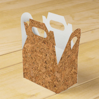 High Quality Texture Of The Cork Board Party Favor Boxes