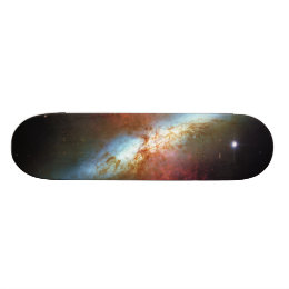 High Rate Star Formation Starburst Galaxy M82 Skateboard Deck