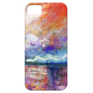 High Res Claude Monet Charing Cross Bridge iPhone SE/5/5s Case