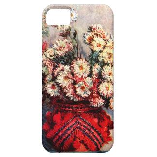 High Res Claude Monet Chrysanthemum iPhone 5 Cases