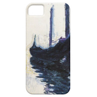 High Res Claude Monet Gondola In Venice iPhone SE/5/5s Case