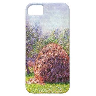 High Res Claude Monet Heap Of Hay iPhone 5 Cases