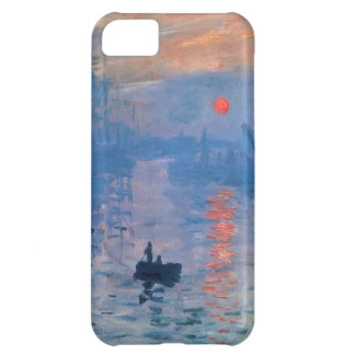 High Res Claude Monet Impression Sunrise Cover For iPhone 5C