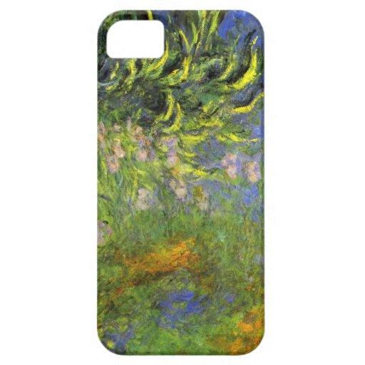 High Res Claude Monet  Iris at the sea-rose pond iPhone 5 Cover