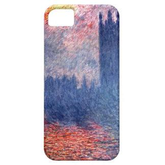 High Res Claude Monet Parliament In London iPhone SE/5/5s Case