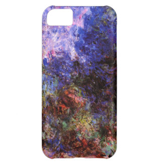 High Res Claude Monet Roses At The Garden Case For iPhone 5C