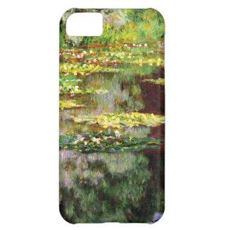 High Res Claude Monet Sea Rose Pond iPhone 5C Cases