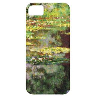 High Res Claude Monet Sea Rose Pond iPhone SE/5/5s Case