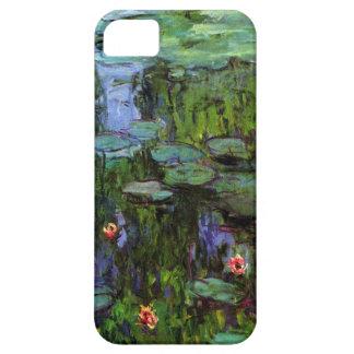 High Res Claude Monet Sea Roses Pond iPhone SE/5/5s Case