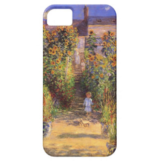 High Res Claude Monet  Seine bank at Vetheuil iPhone 5 Cases