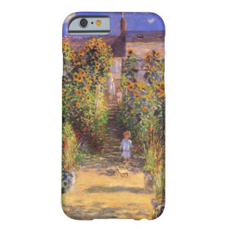 High Res Claude Monet  Seine bank at Vetheuil Barely There iPhone 6 Case
