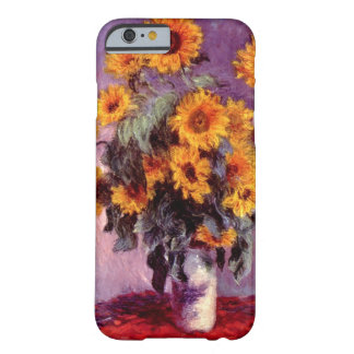 High Res Claude Monet Sunflowers Barely There iPhone 6 Case