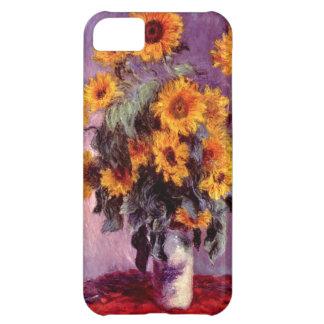 High Res Claude Monet Sunflowers iPhone 5C Case