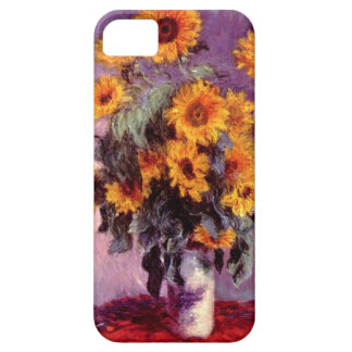 High Res Claude Monet Sunflowers iPhone 5 Covers