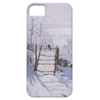 High Res Claude Monet The Magpie iPhone 5 Cases