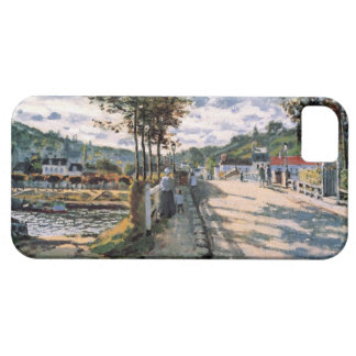 High Res Claude Monet The Seine at Bougival iPhone 5 Cover