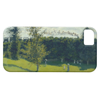 High Res Claude Monet Train In The Country iPhone 5 Covers