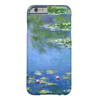 High Res Claude Monet Water Lilies Barely There iPhone 6 Case