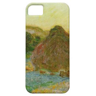 High Res Claude Monet Wheatstack iPhone 5 Cover