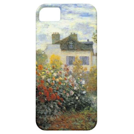 High Res Garden of Monet at Argenteuil iPhone SE/5/5s Case