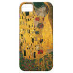High Res Gustav Klimt The Kiss iPhone 5 Cover