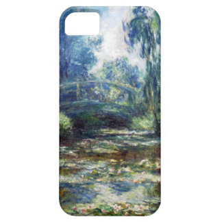 High Res Monet Bridge Over Water Lily Pond iPhone SE/5/5s Case